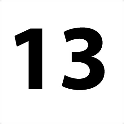 The Number 13 - Is it really unlucky?