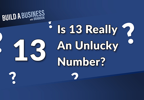 Is 13 Really An Unlucky Number