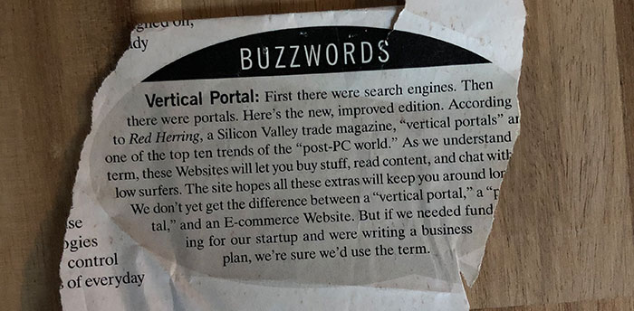Vertical Portal Buzz word Internet sites build an online business with content e-commerce and interactive forums