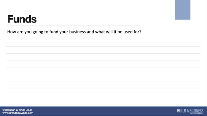 Slide 12 of 13  how much money you need to start, scale and grow your business