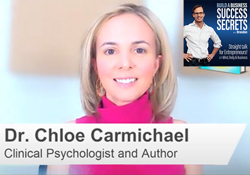 Harnessing Stress For Success with Dr. Chloe Carmichael